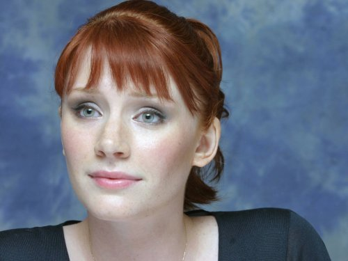 Bryce Dallas Howard - before