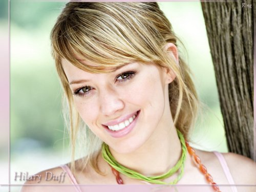Hilary Duff - before